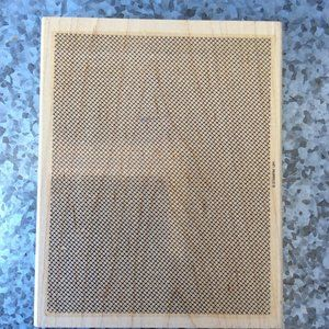 Stampin Up Netting Background Rubber Stamp